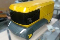 3d maket mikroavtobusa